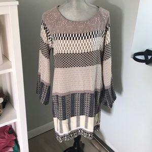NWT HALE BOB 100% silk dress! Medium and gorgeous!